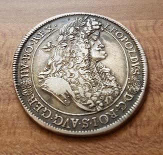 Талер Леопольда 1691року.