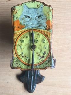 Часы Кошка