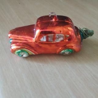 Ялинкова іграшка машинка