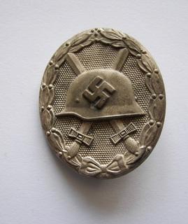 "Знак "" За ранение"" в серебре 1939, II степень"