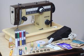 Швейная машина Veritas 8014-43 Германия, 1981г. Кожа. Гарантия - 6 мес