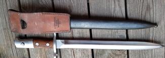 Штик ніж Шмідта Рубіна Швейцарський зразка1911р.з підвісом