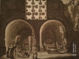 Египетская гробница. 1789. Верже.