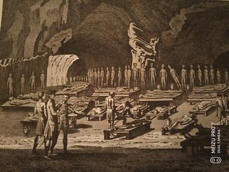 Мертвецы ос. Тенерифе. 1789. Оригинал. 24*19.5 см.