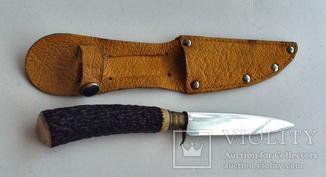Нож с чехлом Miko Чехия 70-х