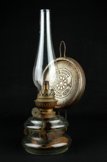 Коллекционная керосиновая лампа Kosmos Brenner. Винтаж. Германия. (0371)