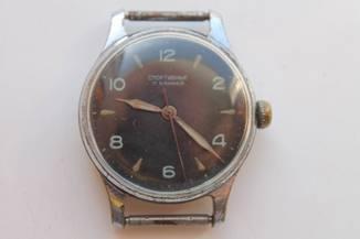 Часы Спортивные, 1МЧЗ, 17 камней, 1-57