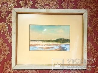 Альберт Бенуа пейзаж 25×15