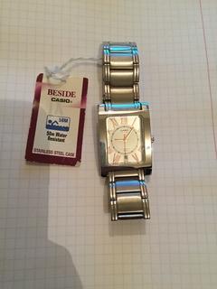Лот 0073 Новые мужские часы Casio (оригинал) BEM-100D-7A3VDF