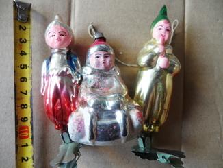 Елочные игрушки 3 штуки одним лотом