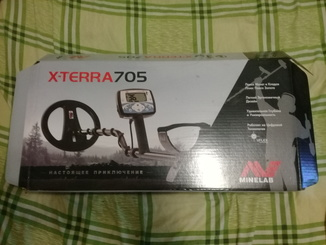 X-terra 705 с Nel tornado 18.5кгц