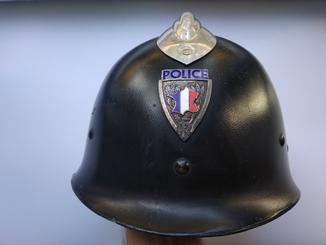 Каска полиции Франции 1933год, шлем полицейского
