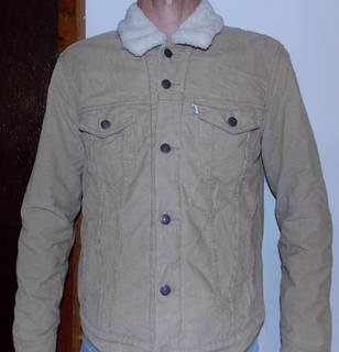 Куртка Levi Straus вельвет, утеплення M-L.