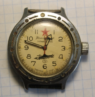Часы командирские антимагнитные.