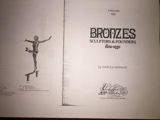 Два тома, Бронза с 1800- 1930.г. Харольд Берман. Репринт