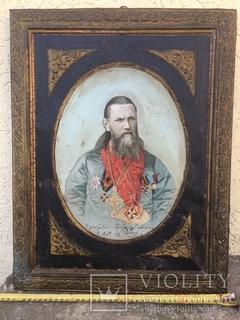 Икона - портрет  Иоанн Кронштадский