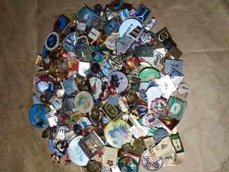Мега коллекция 350 значков