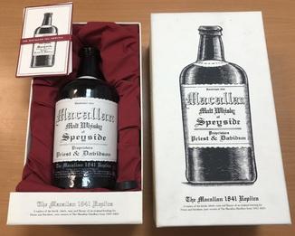 Коллекционное виски Macallan 1841 Replica Highland Single Malt 0,75 л