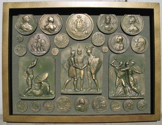 История империи. Копии, со стеклом, 42х31см.