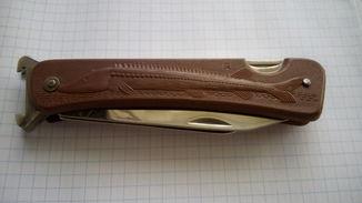 Нож складной в чехле