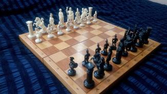 Шахматы Сувенирные Римские Воины, СССР