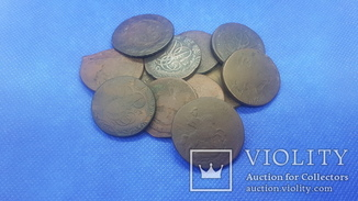 2 копейки 1757-1766 (12 монет)