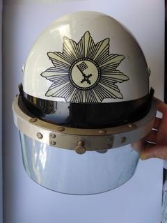Боевой шлем полиции Германии Schuberth P-68, противоударный