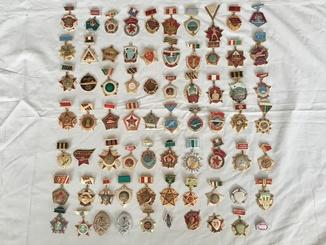 Коллекция знаков 70 штук
