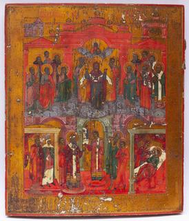 Икона ''Покров Пресвятой Богородицы''