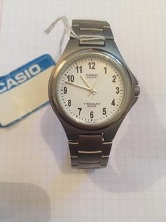 Лот 0094 Новые мужские часы Casio Titanium (оригинал) LIN-163-7BVEF