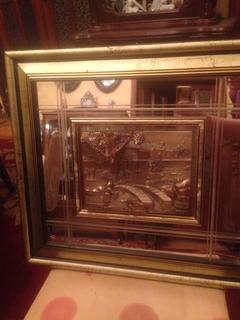 Картина на зеркале.Италия