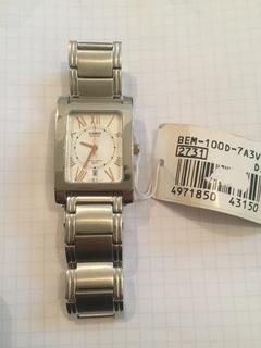 Лот 0112 Новые мужские часы Casio (оригинал) BEM-100D-7A3VDF