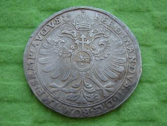 Талер 1623 р. Ербах. Фердинанд II .