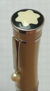 Коллекционная номерная ручка МОНБЛАН с пером 750 пробы.