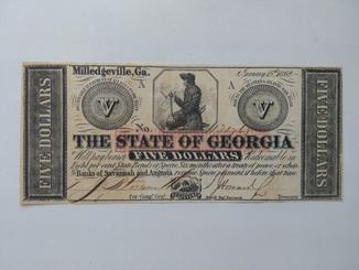 5 долларов 1862