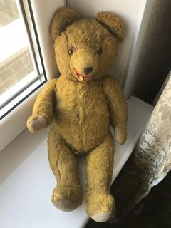 Плюшевый медведь солома 50 см