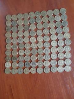 10 коп 1992 г.-100 шт. Итальянский чекан.