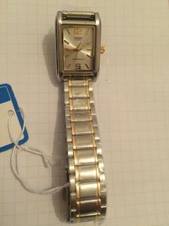 Лот 0126 Новые женские часы Casio (оригинал) LTP-1235SG-7AD