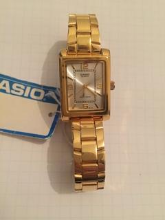 Лот 0130 Новые женские часы Casio (оригинал) LTP-1234G-7AEF