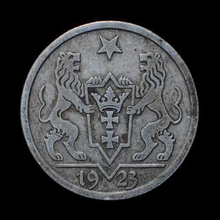 1 Гульден 1923, Данциг / Гданьск