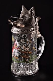 Пивная кружка Германия BMF Original Охота Утка Лиса