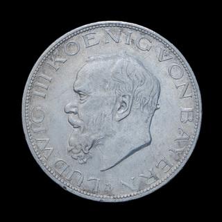 5 Марок 1914 Людвиг III, Бавария