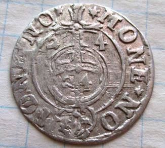 Полторак 1624 года (MONE NO-MONE NO)