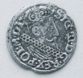 трояк 1622 Сигизмунд III