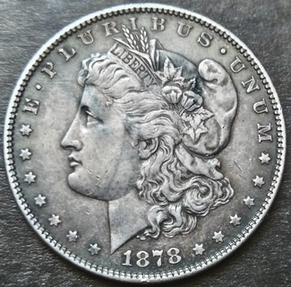 1 Доллар 1878. Морган. Серебро. (Первый Год Чекана )
