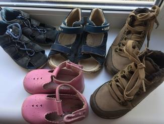 Детская обувь мальчик + девочка