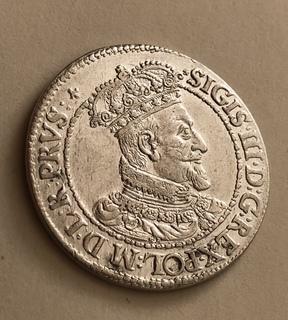 Гданский орт 1618 год R UNS