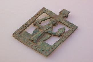 Икона прорезная Святой Николай Чудотворец Можайский