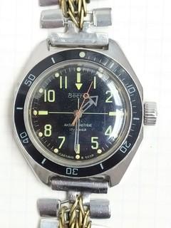 Часы амфибия восьмигранка