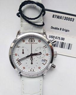 Часы-хронограф 88 Rue Du Rhone 87WA130003 с бриллиантами, новые